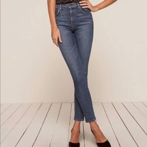 Reformation Selma High & Skinny Jeans